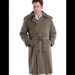 London Fog Olive Maincoat Winter Coat size 42